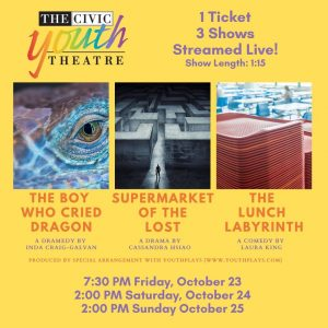 Three Live CYT Shows:  Supermarket of the Lost, Th...