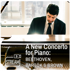 A New Concerto for Piano, Featuring Michael Brown