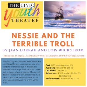 Nessie and the Terrible Troll Auditions