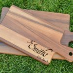 Make and Take: Personalized Walnut Cutting Boards (Great for Gifts!)