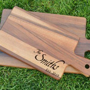 Make and Take: Personalized Walnut Cutting Boards ...