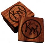 Make and Take: Personalized Hardwood Coasters