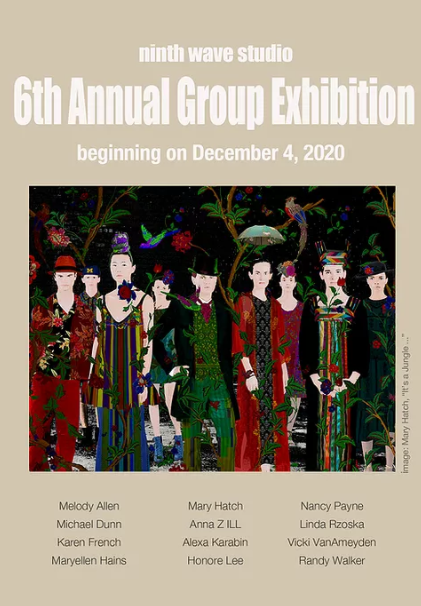 Ninth Wave Studio's 6th Annual Group Exhibition