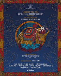 34th Annual Tibet House US Benefit Concert (Virtual)