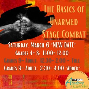 The Basics of Unarmed Stage Combat