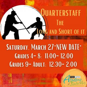 Quarter Staff: The Long and Short of It