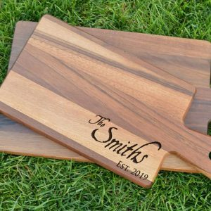 Make and Take: Personalized Walnut Cutting Boards