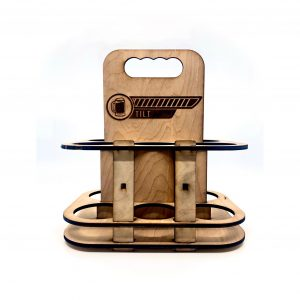 Make and Take: Laser-Cut Beer Caddy