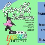 Gorilla Ballerina Auditions (Grades K-2)