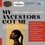 My Ancestors Got Me - An Afrofuturism Workshop