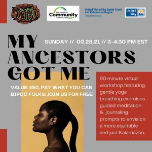 My Ancestors Got Me - An Afrofuturism Workshop
