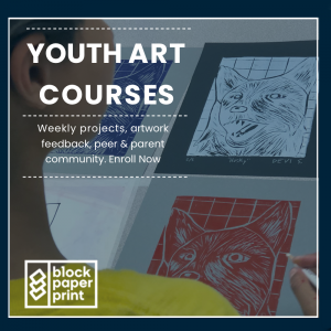Youth Art Classes (ages 10 - 14)
