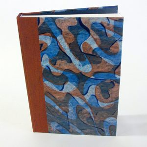 Case-Bound Journal with Paste Paper Covers