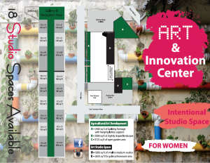 Intentional Studio Spaces Available at Art & Innovation Center
