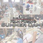 Kiln Fusing Glass Art Camp for Kids