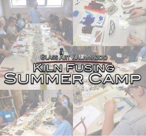 Kiln Fusing Glass Art Camp for Kids