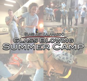Glass Blowing Glass Art Camp for Kids
