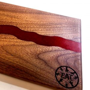 Make and Take: Resin River Serving Board