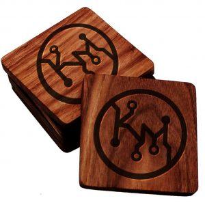 Make and Take: Personalized Hardwood Coasters