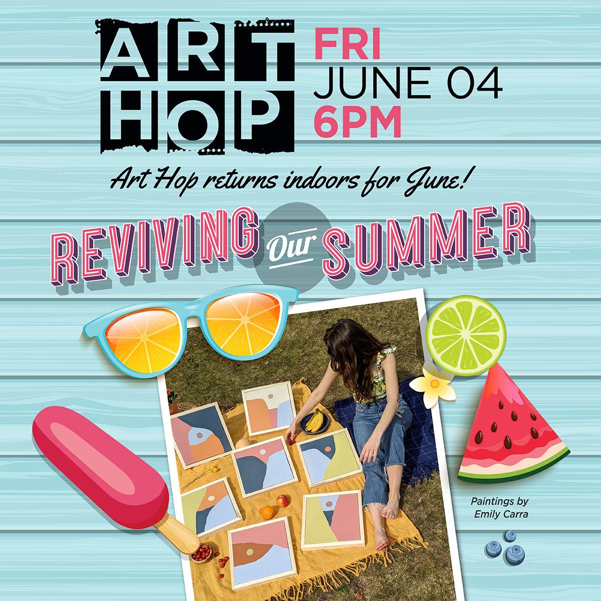 Art Hop - June 2021