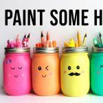 Paint Some Happy Jars