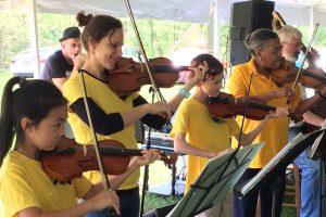 Crescendo Academy of Music Fiddlers Class
