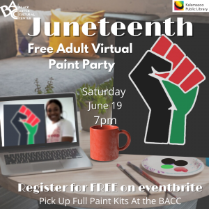 Juneteenth Adult Virtual Paint Party