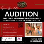 Rootead Youth Dance Company Audition