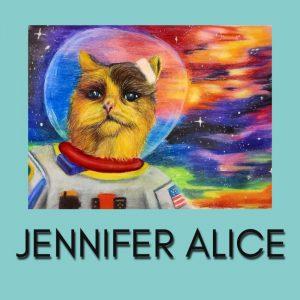Art Hop October 2021 Stop 23: Jennifer Alice Mitts at Haymarket Plaza Tent 5