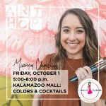 Art Hop October 2021 Stop 8: Marissa Chupp at Colors and Cocktails