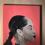 Art Hop October 2021 Stop 27: Shaqouna Espinoza with Soul Artistry at The Stamped Robin