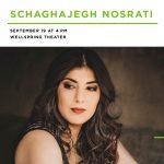 Rising Stars Series | Schaghajegh Nosrati