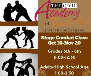 Stage Combat Class