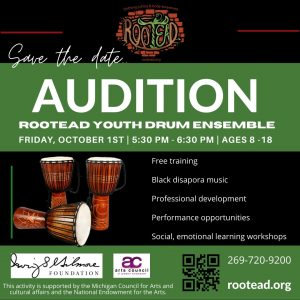 Rootead Youth Drum Ensemble