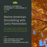Native American Story Telling with Larry Plamondon