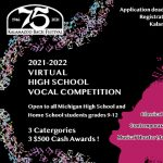 2022 Young Vocalists Virtual Competition for Michigan High School Students