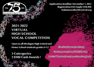 2022 Young Vocalists Virtual Competition for Michi...