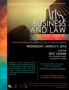 Arts, Business and Law