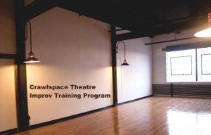 Crawlspace Theatre Improv Class, Monday