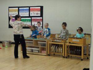 Orff Studio Group Music Classes