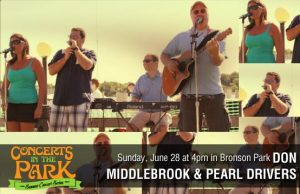 Concerts in the Park - Don Middlebrook and Pearl Divers