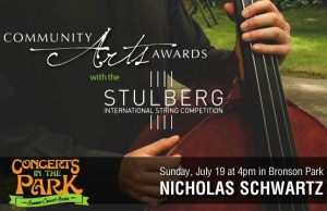 Concerts in the Park - Community Arts Awards with Nicholas Schwartz, Double Bass