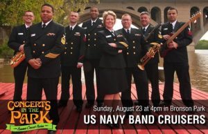 Concerts in the Park - US Navy Band Cruisers