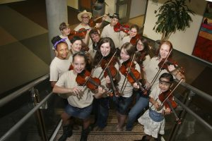 Crescendo Fiddlers in Concert