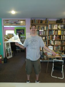 Paper Airplane Day with Tim McGrew