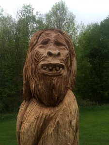 Live Chainsaw Art Carvings!