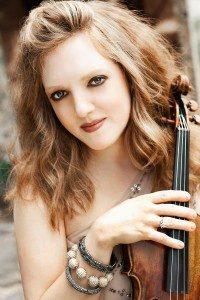 Rachel Barton Pine performs with the Kalamazoo Junior Symphony
