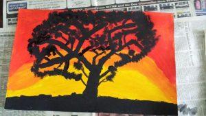 Oakwood Neighborhood Association's Youth Summer Art Program