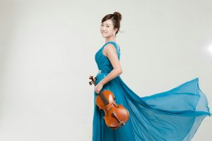 Stulberg Bronze Medalist Hae Sue Lee with the Kalamazoo Junior Symphony Orchestra