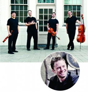 Miró Quartet with Colin Currie